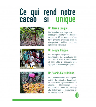 Chocolat 71% du Libéria
